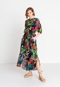 Ivko - TROPICAL MOTIF - Shirt dress - amazonas - 1