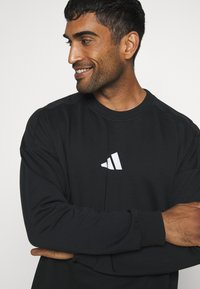 adidas Performance - TIGER CREW - Sweatshirt - black - 3
