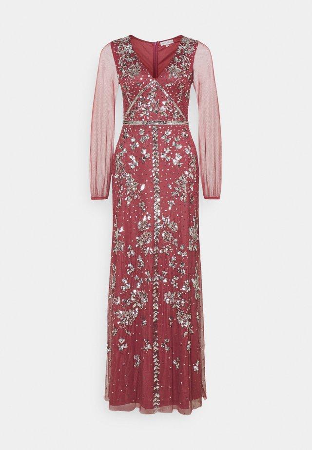 Vestido de fiesta - desert rose