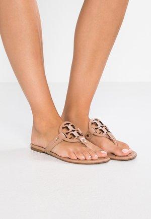 MILLER - T-bar sandals - light makeup