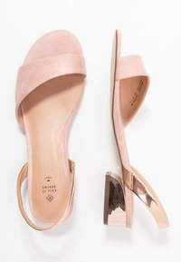 Call it Spring - FURCATA - Sandály - light pink - 3