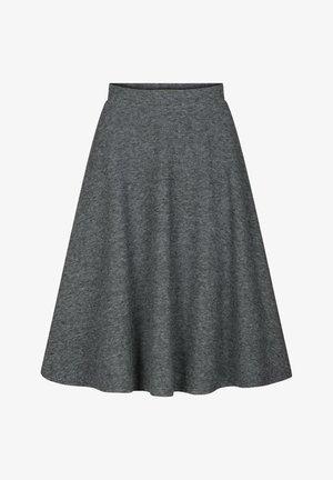 MIT PEPITAMUSTER - A-line skirt - schwarz