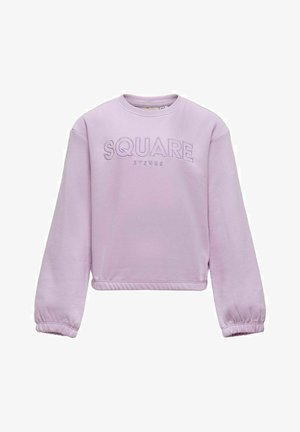 STATEMENT - Sweatshirt - orchid bloom