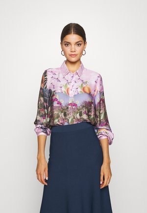NUBAYLEAH - Button-down blouse - lilac