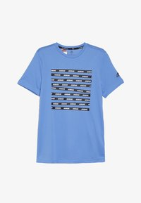 adidas Performance - TEE - T-shirts print - blue/black - 2