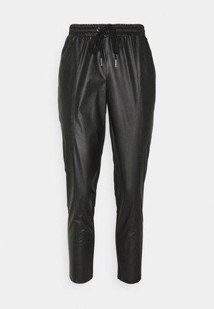 FIBBIA PANTALONE - Kalhoty - black