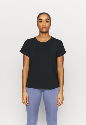 TILDEN  - Basic T-shirt - black
