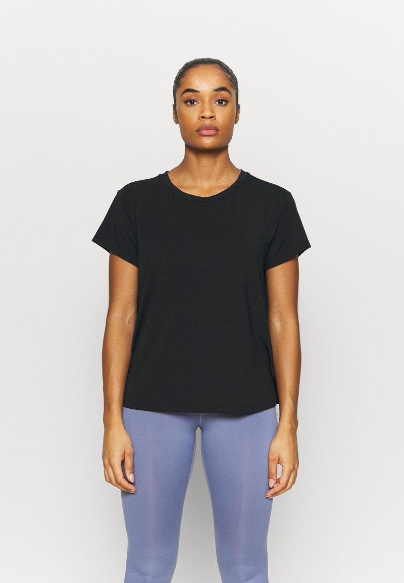 Varley - TILDEN  - T-shirt basic - black