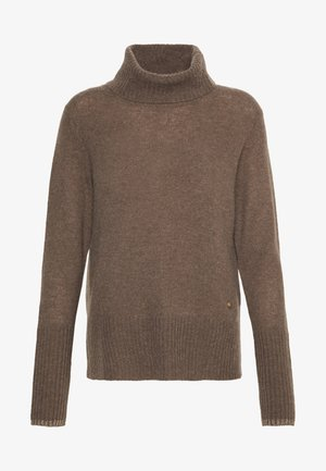 SOPHIA ROLLNECK - Jumper - chocolate chip