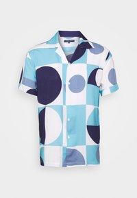 Frescobol Carioca - CAMP COLLAR COPIC - Shirt - sky blue - 0