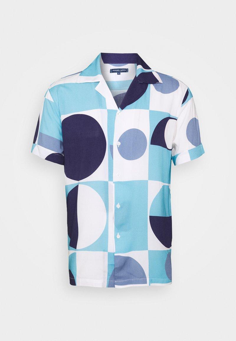 Frescobol Carioca - CAMP COLLAR COPIC - Shirt - sky blue
