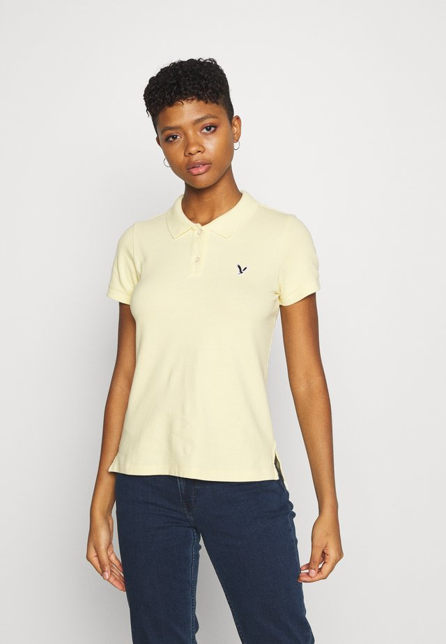 SOLIDS - Polo - yellow