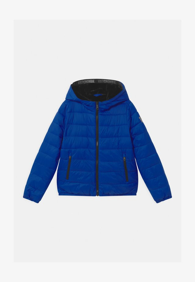 COZY PUFFER UNISEX - Winter jacket - blue solid