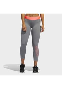 adidas Performance - ALPHASKIN 7/8 LEGGINGS - Medias - grey - 0