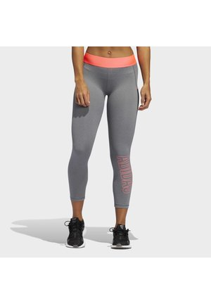ALPHASKIN 7/8 LEGGINGS - Tights - grey
