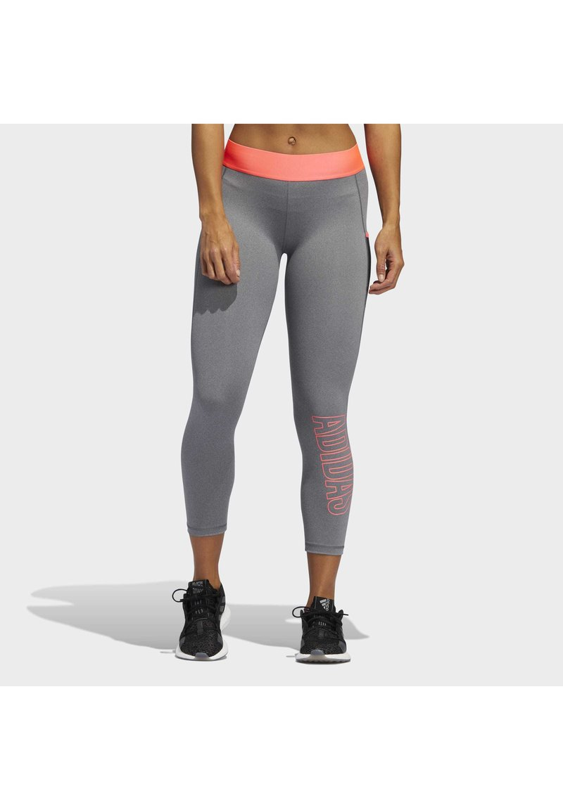 adidas Performance - ALPHASKIN 7/8 LEGGINGS - Medias - grey