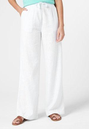 Stoffhose - white
