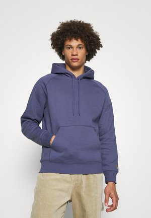 HOODED CHASE  - Jersey con capucha - cold viola/gold