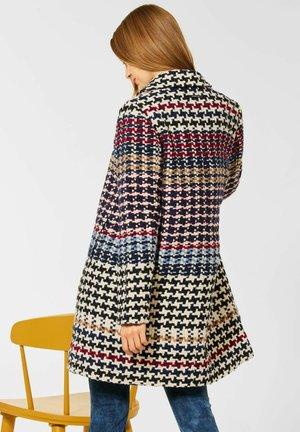 OPTIK - Classic coat - blau