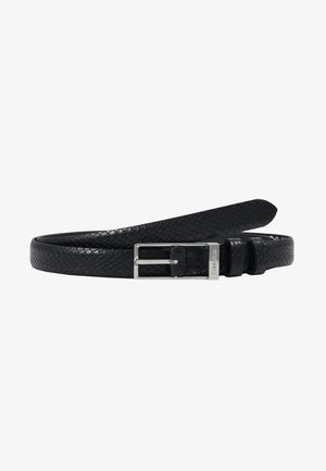 WINGED BELT - Pasek - black