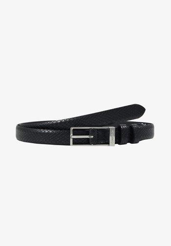 WINGED BELT - Belt - black