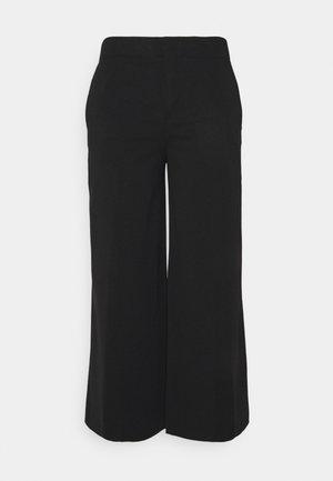 BONNET - Trousers - schwarz