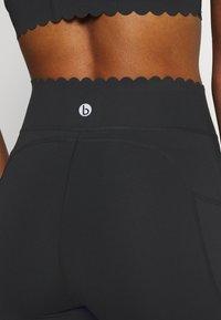 Cotton On Body - SCALLOP HEM 7/8  - Tights - black - 5