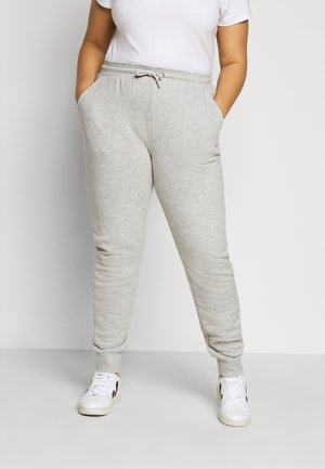 EIDER PANTS - Pantalones deportivos - light grey melange bros