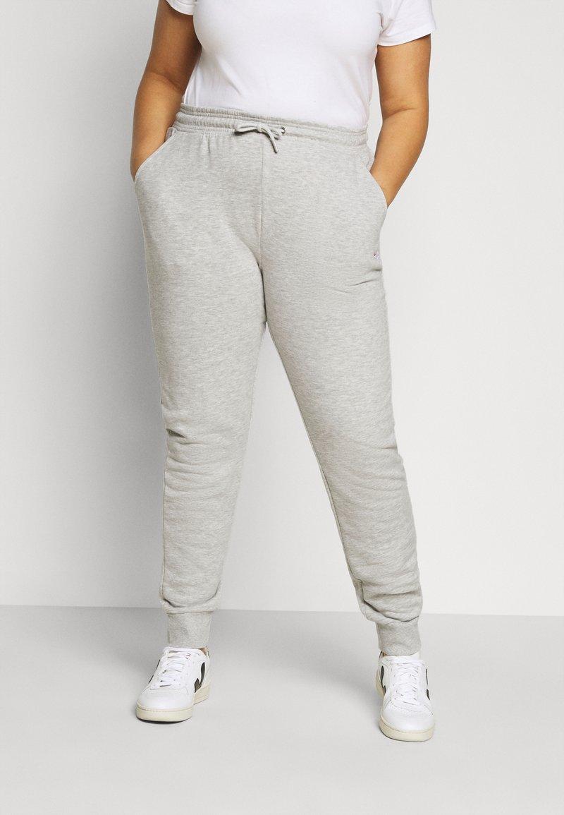 Fila Plus - EIDER PANTS - Verryttelyhousut - light grey melange bros