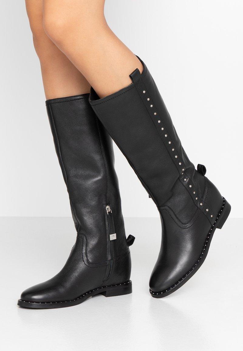 Gioseppo - Cowboy/Biker boots - black