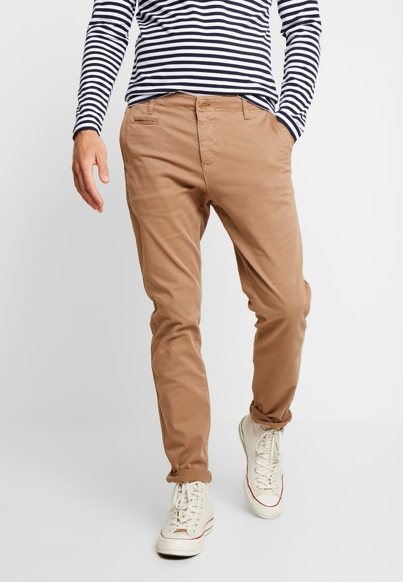 Knowledge Cotton Apparel - JOE STRETCHED  - Trousers - tuffet