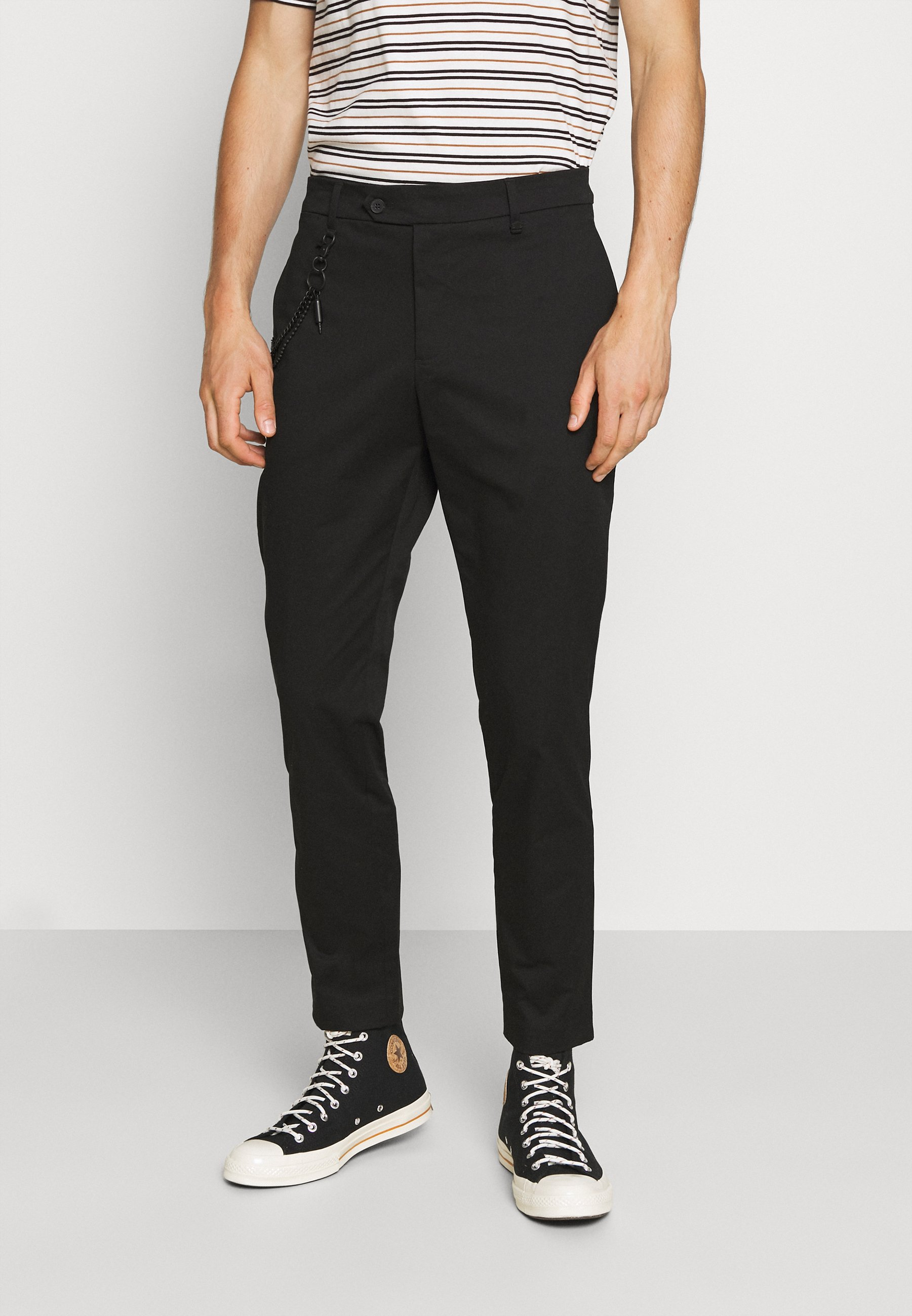 Homme TROUSERS JAGGER CARROT FIT IN STRETCH FABRIC - Pantalon classique