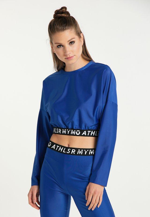 Pitkähihainen paita - blau