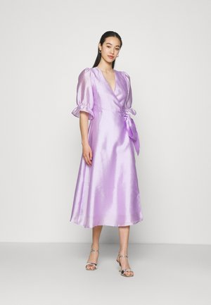 MILLY WRAP DRESS - Cocktail dress / Party dress - light purple
