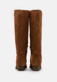 Anna Field - LEATHER  - Vysoká obuv - brown - 3