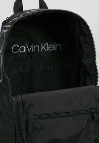 Calvin Klein - TRAIL ROUND BACKPACK - Rucksack - black - 4