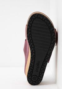 Papillio - NORA - Pantofle na podpatku - zinfandel - 6