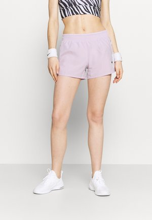 RUN SHORT - Short de sport - iced lilac/white