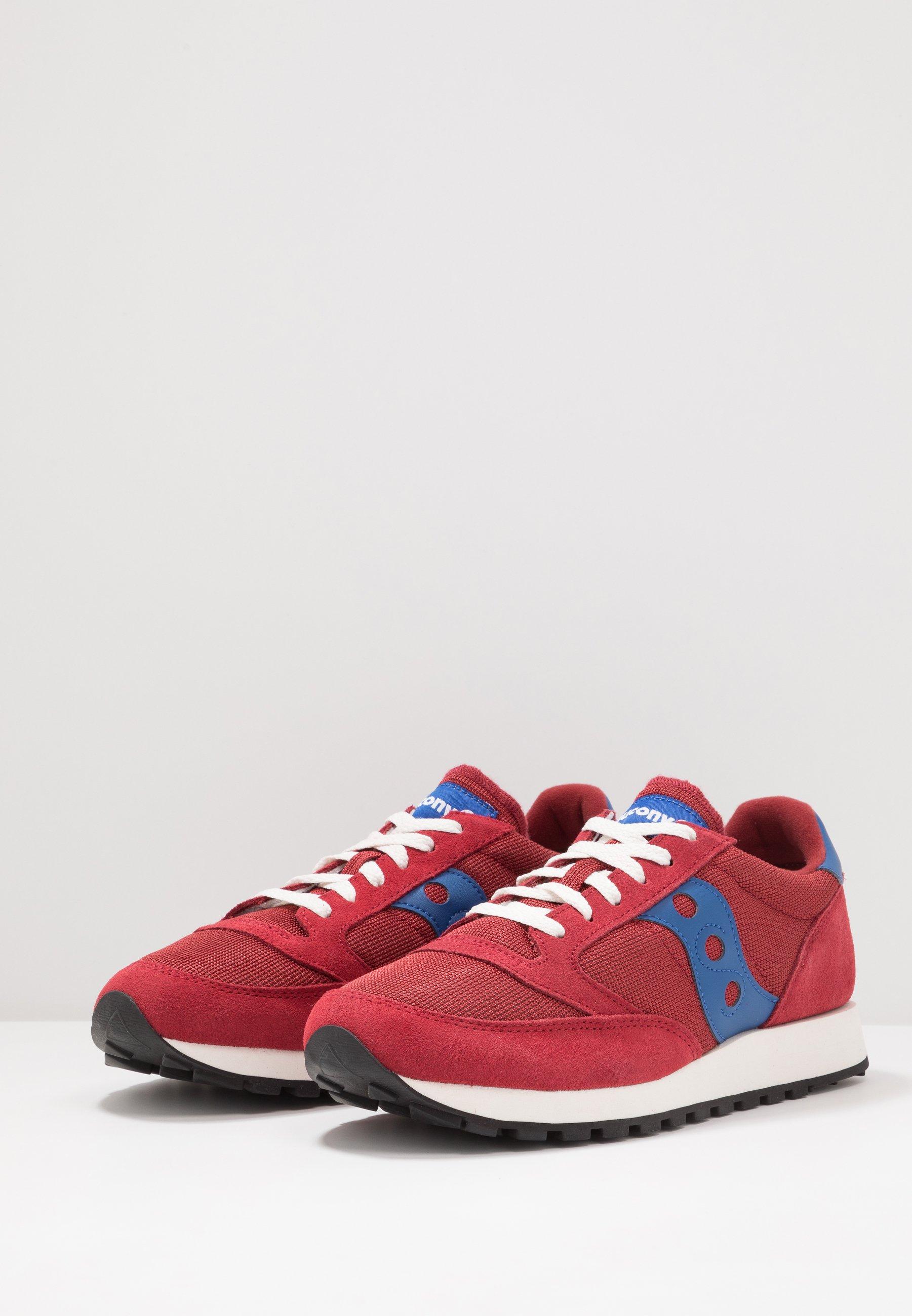 Saucony Jazz Vintage - Sneakers Red/blue