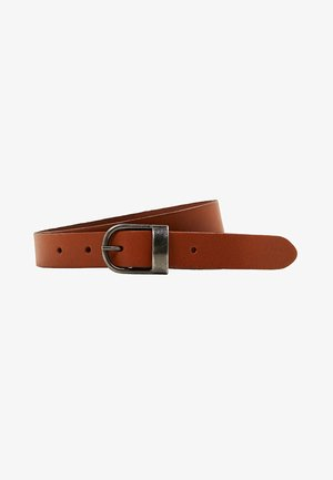 Belt business - rust brown