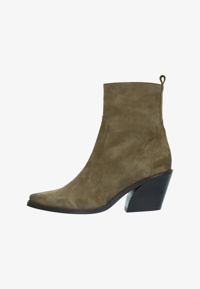 Classic ankle boots - grün