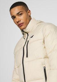 Hollister Co. - PUFFER MOCK BURG - Winter jacket - beige - 3