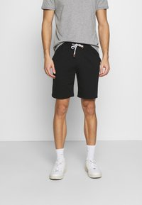 INDICODE JEANS - EXCLUSIVE 2 PACK - Shorts - black/light grey - 1