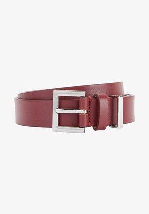 Belt business - dark red