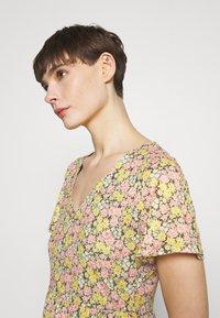 Vila - VINATALIE SHORT DRESS - Jersey dress - dark olive - 3