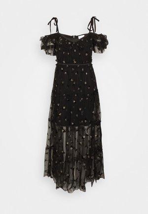 MOON LOVER DRESS - Cocktailkjoler / festkjoler - black