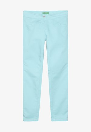 TROUSERS - Skinny džíny - light blue