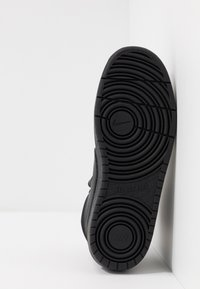 Nike Sportswear - COURT BOROUGH MID 2 UNISEX - Sneakersy wysokie - black - 5