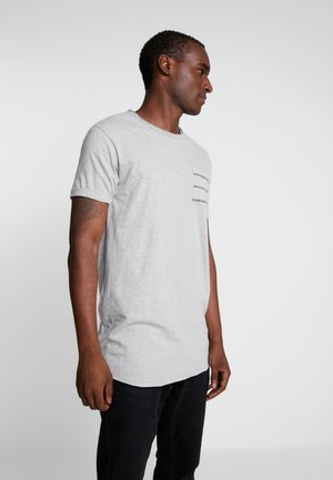 VILLENEUVE - T-Shirt print - grey