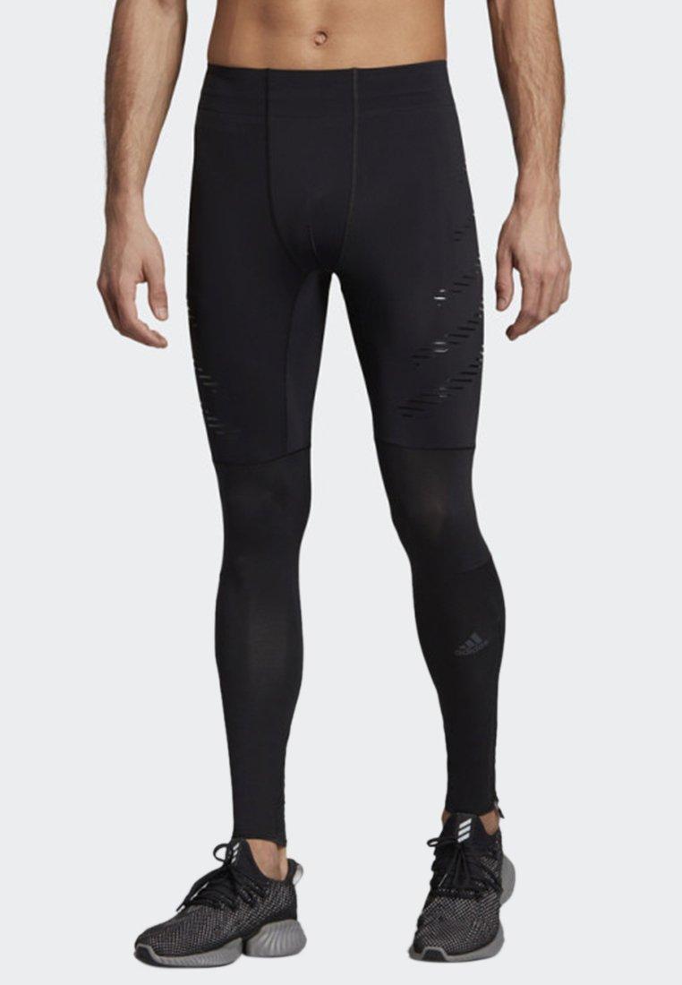 adidas Performance - SPEED LONG TIGHTS - Tights - black